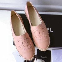 Chanel Fashion Espadrilles For Women Shoes Pink B-TFDXY-XNEDX