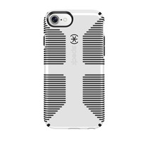 Speck Products CandyShell Grip Cell Phone Case for iPhone 7/6S/6 - White/Black