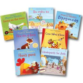 Usborne Books & More. Phonics Readers Starter Collection (7)