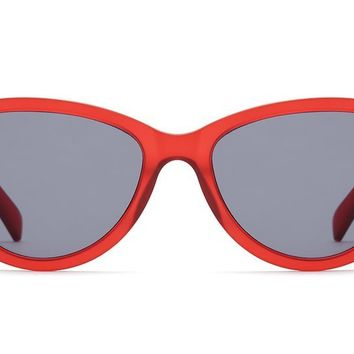 Quay - Rizzo Red  Sunglasses / Smoke Lenses