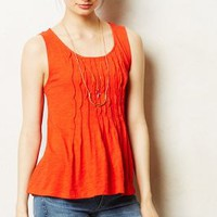 Twisted Pleats Tank by Deletta