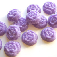 Lavender Flavored Sugar Cubes- Lavender Flowers for Tea Parties, Favors, Champagne Toasts, Berries, Cider, Coffee, Tea