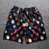 LV 2019 new men's and women's casual sports shorts