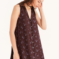 Kimchi Blue Katrina Button-Down Swing Dress - Urban Outfitters