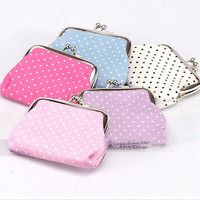 2015 New girls Wallet Clutch Change Purse key/coins bag Mini Handbag Pouch CBCA