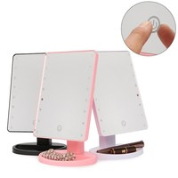 Touch Screen Makeup Mirror With LED Light