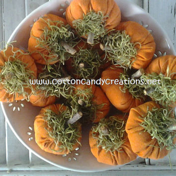 Fall Osenberg Pumpkins - Primitive Pumpkins - Handmade Fall Pumpkins - Halloween Pumpkins - Fall Bowl Filler - Fall Ornament