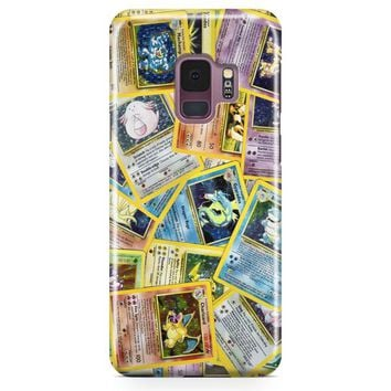 Pokemon Black Bulbasaur,Squirtle & Charmander,Pikachu Samsung Galaxy S9 Case | Casefantasy