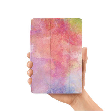 ipad mini case smart case cover for ipad mini air 1 2 3 4 5 6 pro 9.7 12.9 retina display watercolor painting