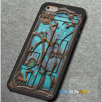 Steampunk Tardis Doctor Who Cell Phone Case Cover For iPhone 4, 4S, 5, 5S, 5C, 6, 6S, 7, 6 Plus, 6S Plus, 7 Plus
