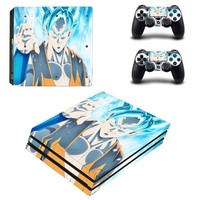 PS4 Pro Skin Sticker Vinyl Decal Cover  Anime Dragon Ball Z