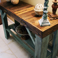 Reclaimed Pallet Table, Entry Table, Sofa Table