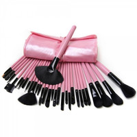 32 Pcs Makeup Brush Set with Bag
