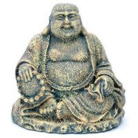 Penn Plax Mini Sitting Buddha Aquarium Ornament