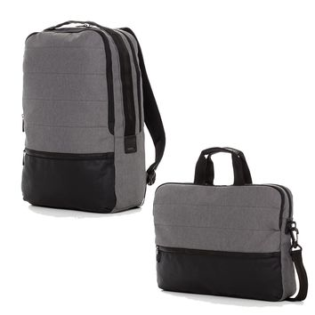 The Gray Hank & Trace Backpack and Messenger Bag Set
