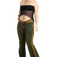 Vintage Y2K Come On Over Baby Flares - S/M