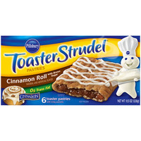 Walmart: Pillsbury Toaster Strudel Cinnamon Roll Toaster Pastries, 6 count, 11.5 oz