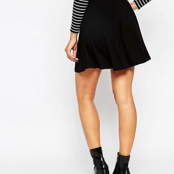 ASOS Skater Skirt with Pockets at asos.com
