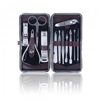 12 in 1 Chic Manicure/ Pedicure Kit-French Press