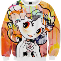 '<3' Fall Sweater created by jcorptm | Print All Over Me