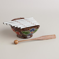 Painted Coconut Chime Instrument - World Market