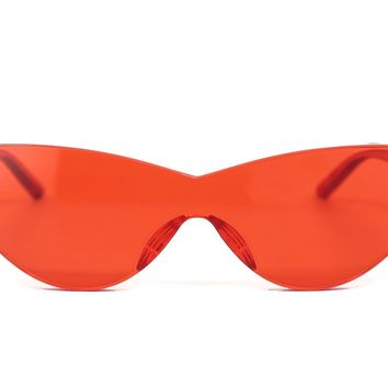 Flame Cat Eye Sunglasses