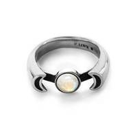 Luna Ring in sterling silver