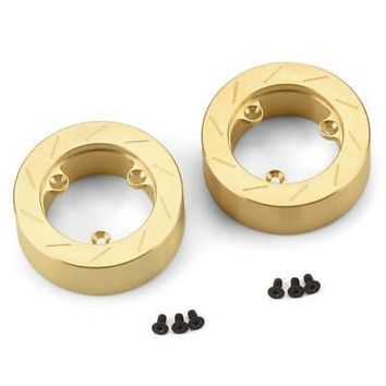 NEW Pro-Line Brass Brake Rotor Weights (2) for 6 Lug 12mm 6292-01Officially Licensed  AT_69_5