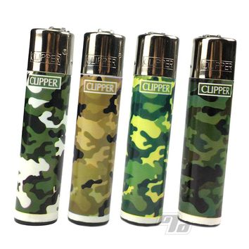 Clipper Camouflage Series (4 Pack)