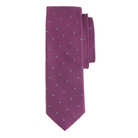 J.Crew Mens English Silk Tie In Dot