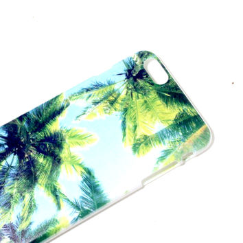 California Palm Trees iPhone Case