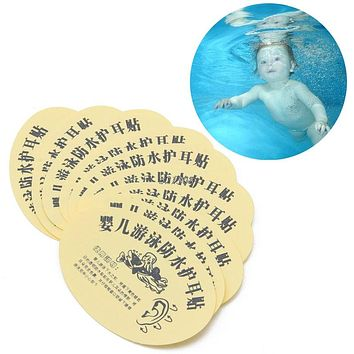 Baby Swimming Waterproof Ear Stickers Disposable Newborn Infant Swim and Shower Earplug Baby Care