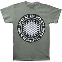 Bring Me The Horizon Men's  Sempiternal Slim Fit T-shirt Grey