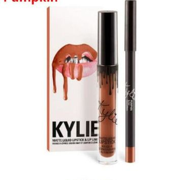 LMFUNT New 5 Color Pumpkin Quality Copper Creme Shadow Rose Gold Metallic Gel Eyeshadow Birthday Edition Kyli Cosmetics lip kit