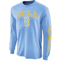 UCLA Bruins Big Arch N' Logo Long Sleeve T-Shirt - Light Blue