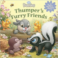 Disney Bunnies: Thumper's Furry Friends Board Book