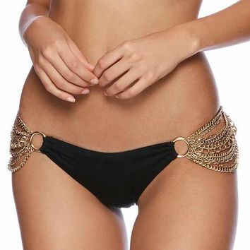 Beach Bunny Ball & Chain Skimpy Bikini Bottom Swim Separate (Many Colors)