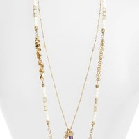 Women's Lonna & Lilly Long Multistrand Necklace