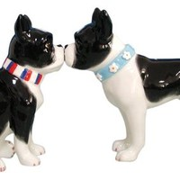 Westland Giftware Boston Terriers Salt & Pepper Shaker Set 3-1/2