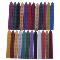 24 Color DIY Sealing Strips Seal Dedicated Beeswax Stick Branding Paint Stamp Seal Wax Sigillo Handmade Hobby DIY Tools