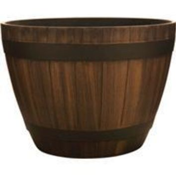 Southern Patio - Hdr Wine Barrel Planter