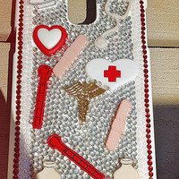 Nurses / Medical phone case. Any type of cell phone or iPod case you want.