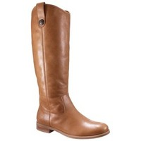 Women's Merona® Kasia Genuine Leather Riding Boot - Assorted Colors