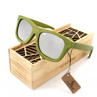 New Bamboo Men's Wooden Sunglasses Polarized Real Wooden Sun Glasses Retro for Men and Women Fashion Gift Items with Wood Box