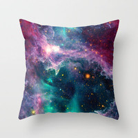 Pillars of Star Formation Throw Pillow by Starstuff | Society6