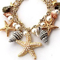 Mixed Sea Shell Necklace
