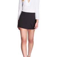 Sleek Asymmetrical Skort-FINAL SALE