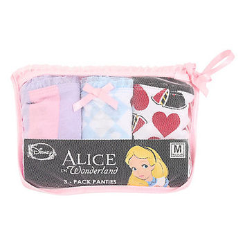 Disney Alice In Wonderland Panty Set