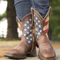 Women's Lady Rebel Patriotic Boot