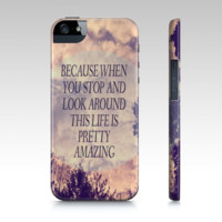 "iPhone 5 case ""Pretty Amazing"" - $35.00 - Handmade Accessories, Crafts and Unique Gifts by Vintage Skies Photography & Designs"